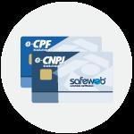 Cartão SafeSign Safeweb